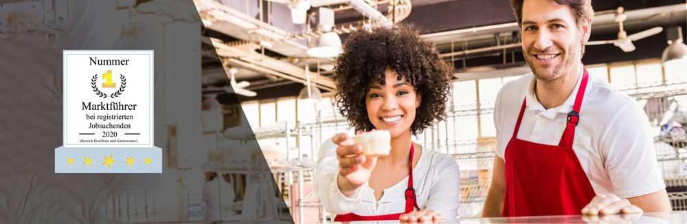 Kellner, Barkeeper, Bedienungen und Küchenhilfen suchen auf JOBOO!® Jobs in der Gastronomie.