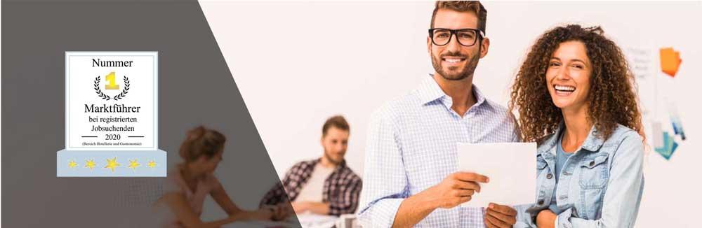 Auf der Seite JOBOO!® findest du Stellenanzeigen in der Gastronomie und beschleunigst deine Jobsuche in der Gastronomie.