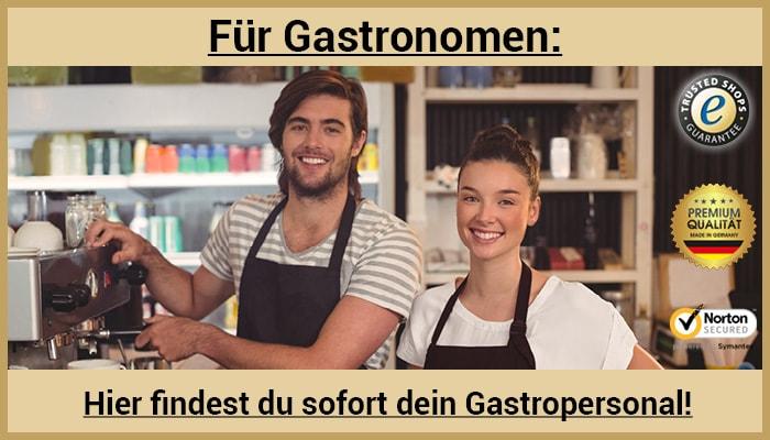 Auf GO-GASTRO!® gibt es die besten Jobsuchenden in der Gastronomie, die ihre offenen Stellen in der Gastronomie suchen.